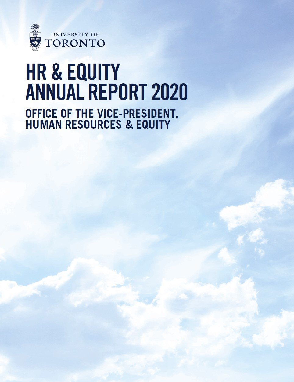 Read the 2020 Human Resources & Equity Annual Report