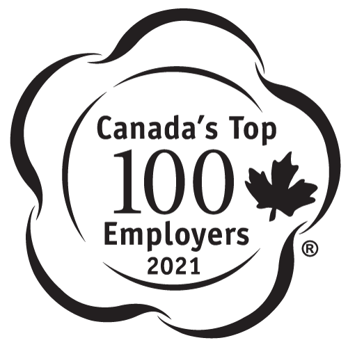One of Canada's top 100 employers