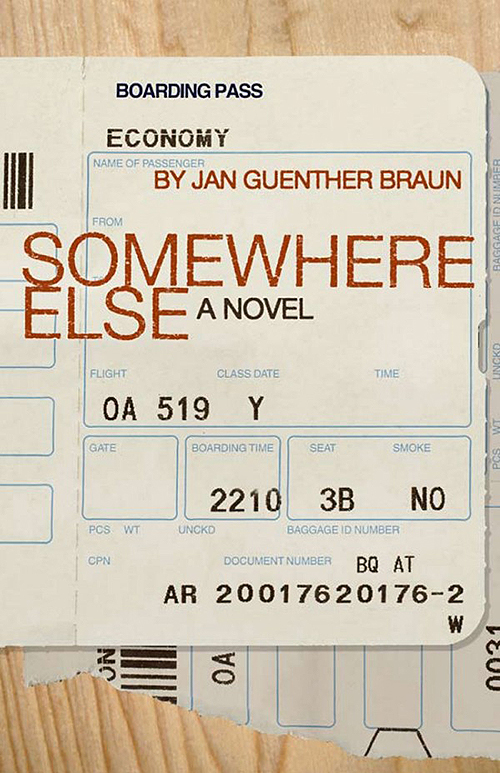 Jan Guenther Braun's book Somewhere Else
