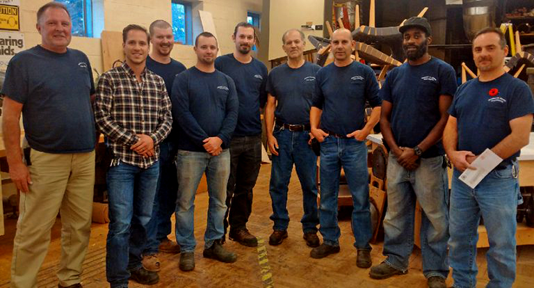 U of T Carpenters Team, Union Local for the United Way Campaign