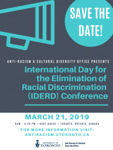 International Day for the Elimination of Racial Discrimination poster